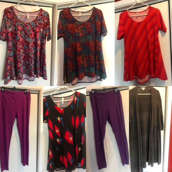 LuLarue Clothing, 7 pieces wow!